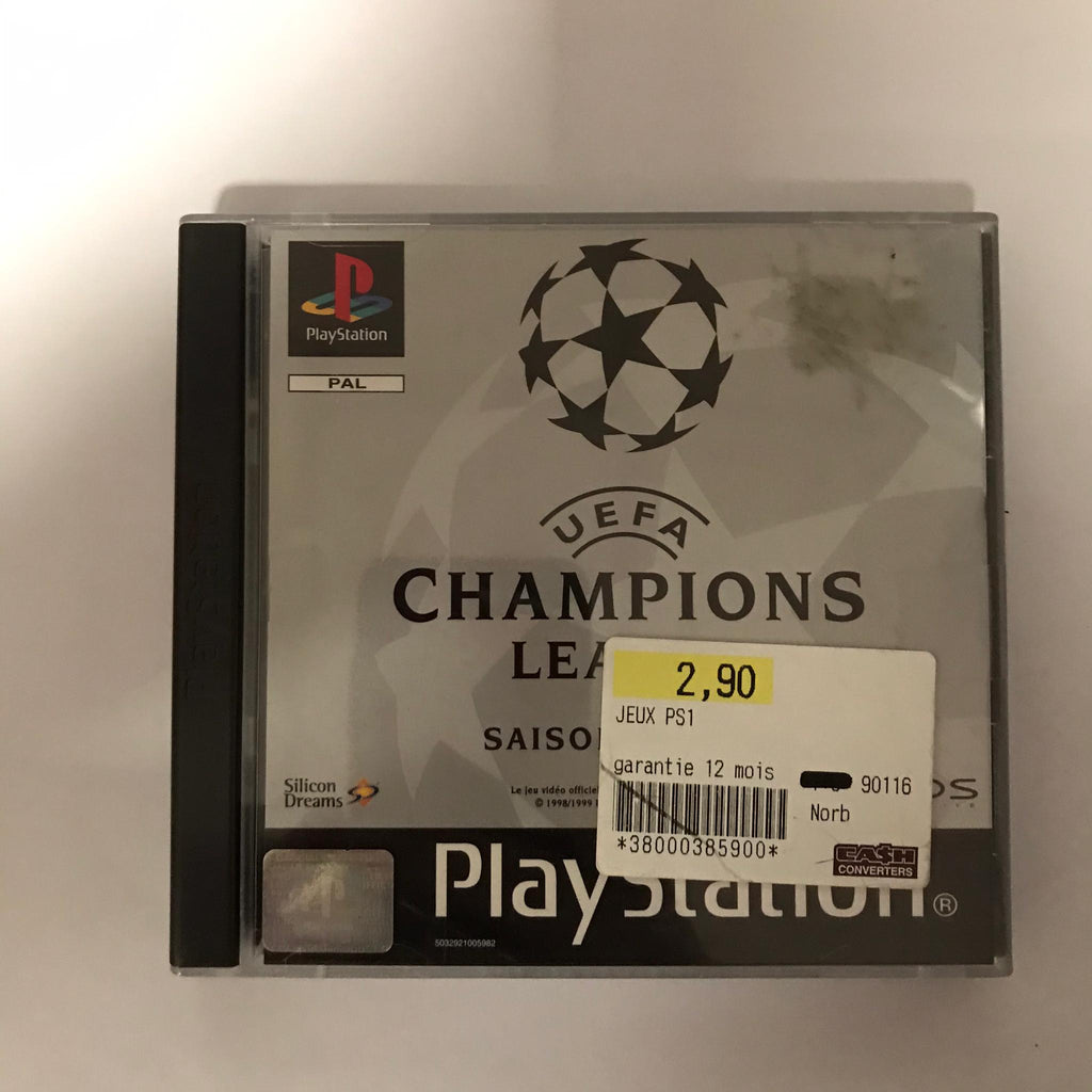 Jeu PS1 UEFA Champions League saison 98/99