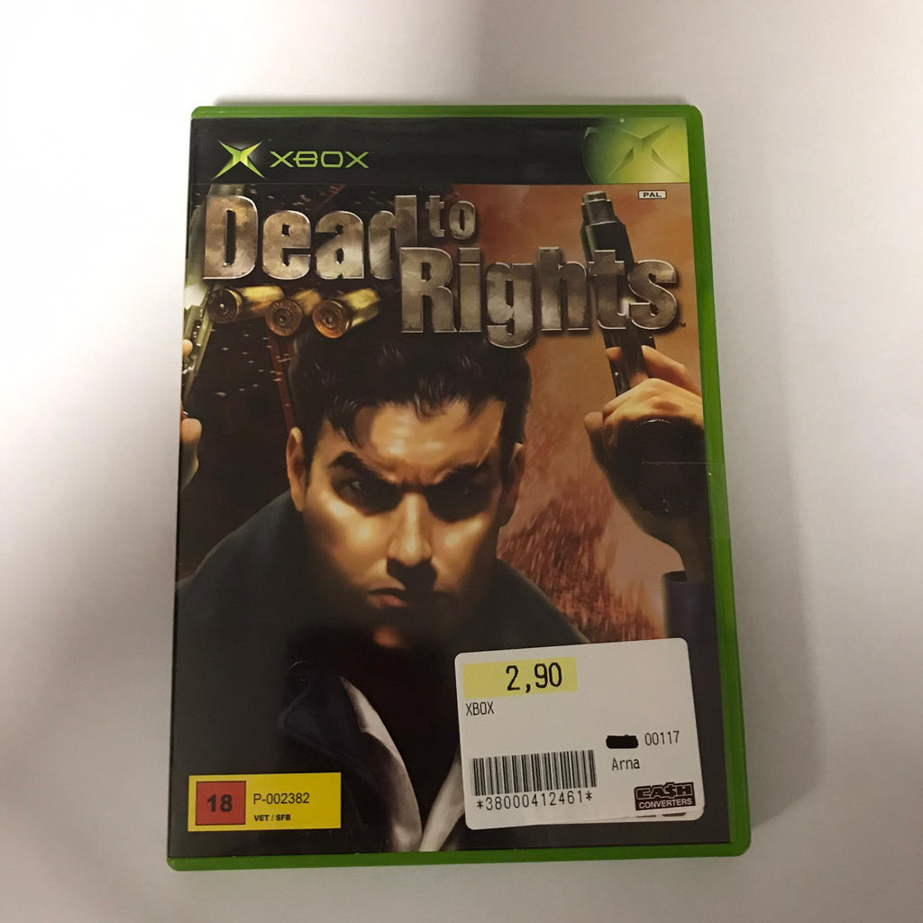 Jeu Xbox Dead to Rights