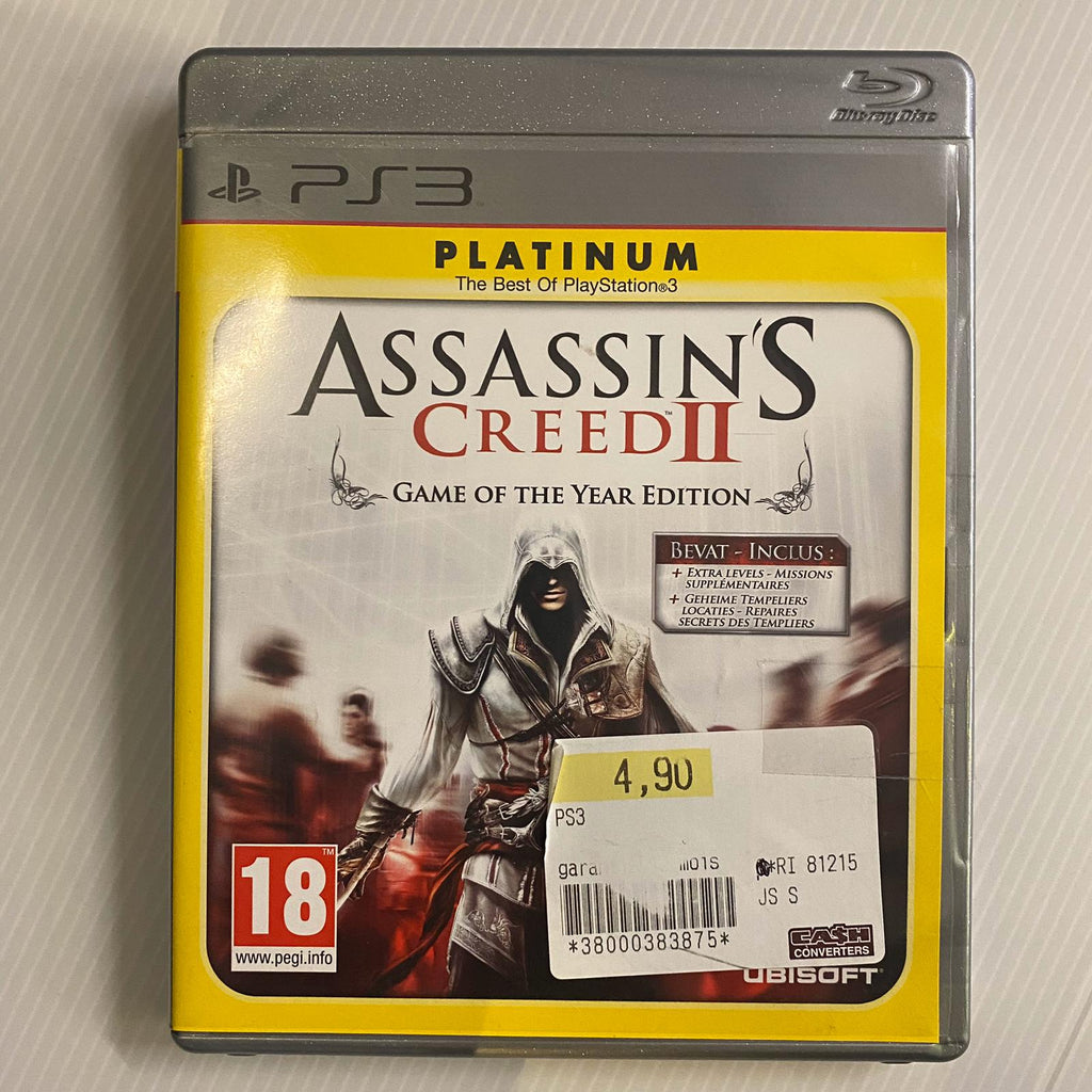 Jeu PS3 Assassin's Creed II - Game of the year edition