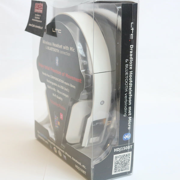 CASQUE BLUETOOTH LTC HDJ150  Blanc