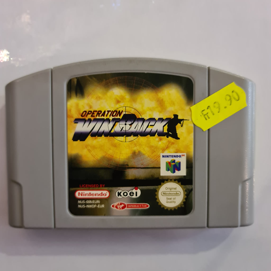 Jeu nintendo 64 Operation WinBack
