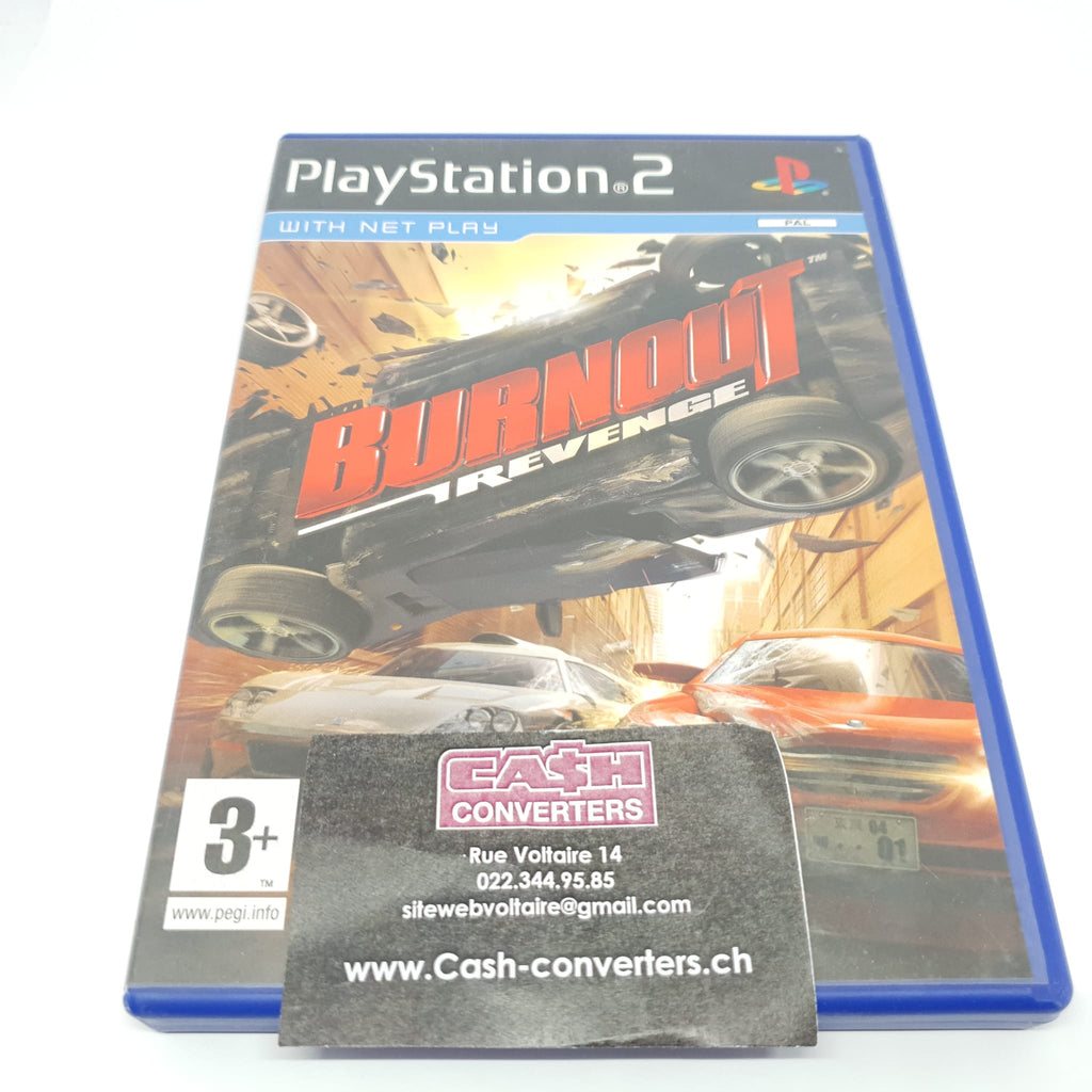JEU PS2 BURNOUT REVENGE