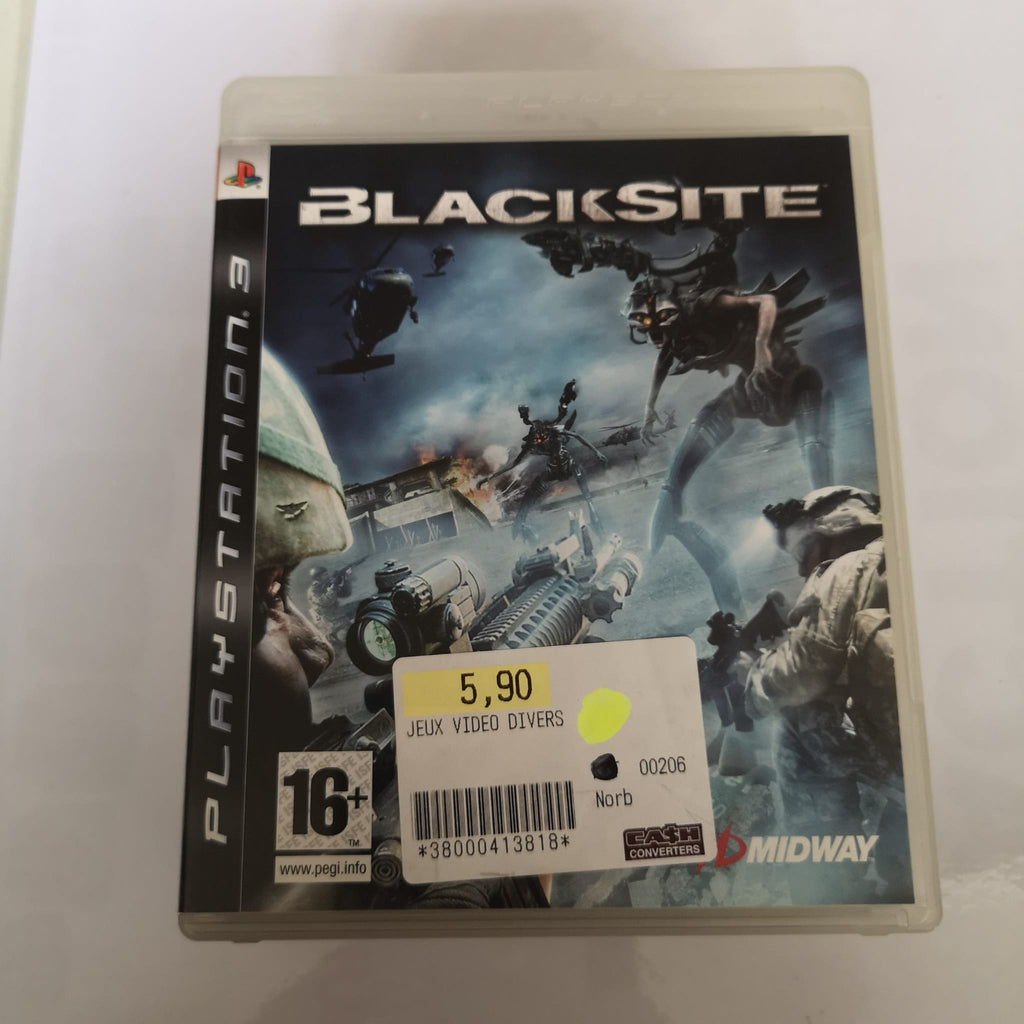 Jeu PS3 Blacksite