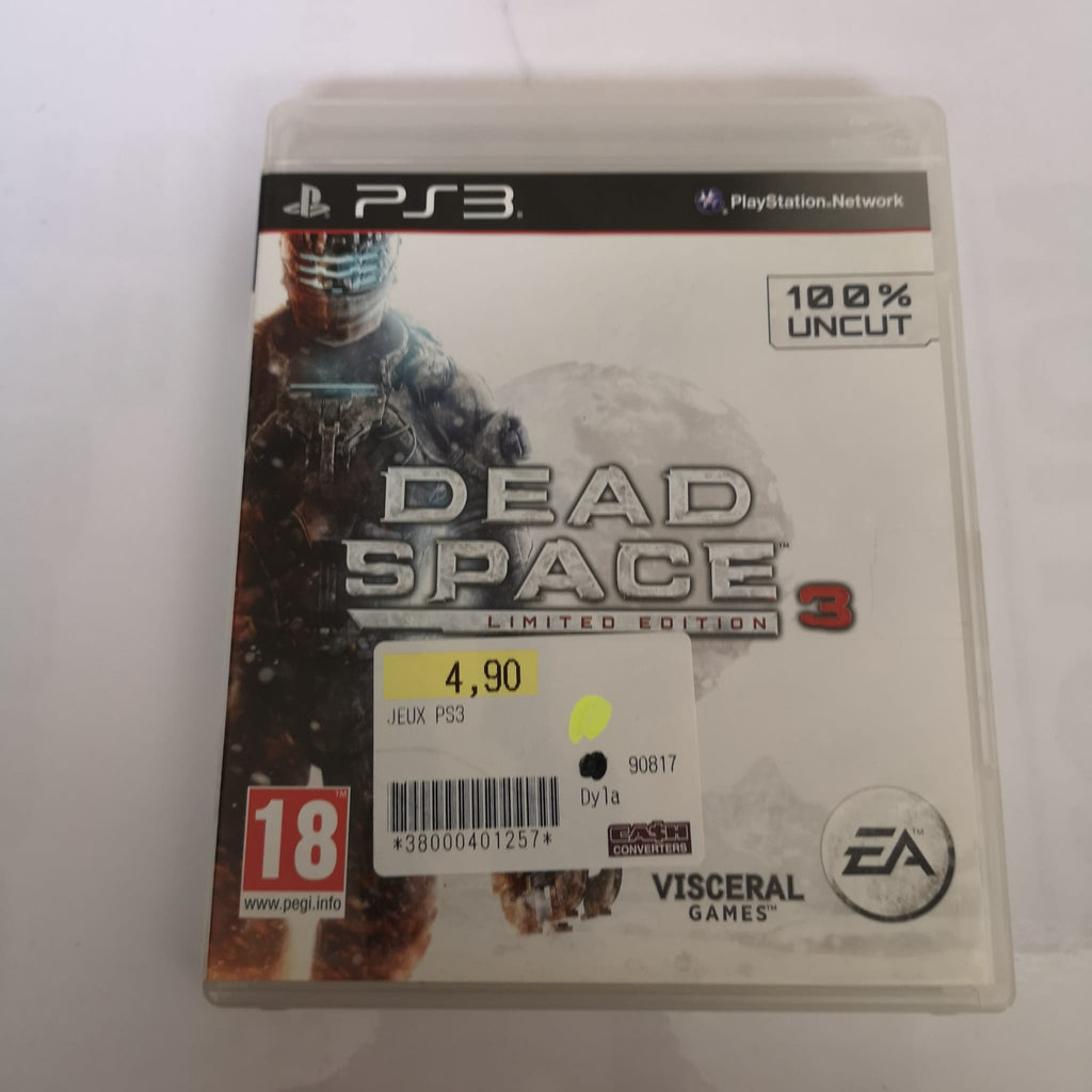 Jeu PS3 Dead Space 3 limited edition
