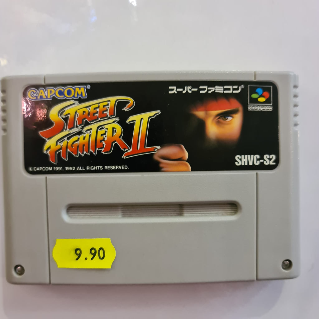 Jeu Super Famicom Street Fighter II
