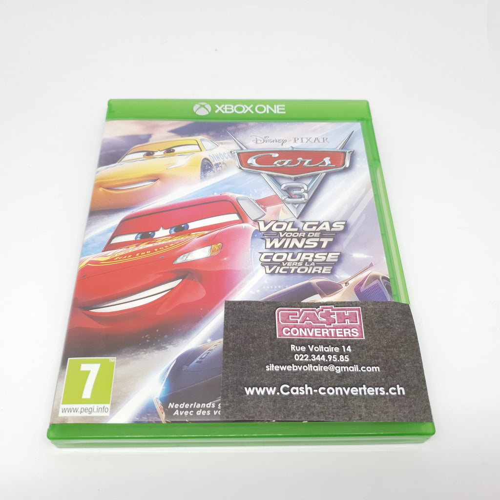 JEU XBOX ONE DISNEY CARS 3