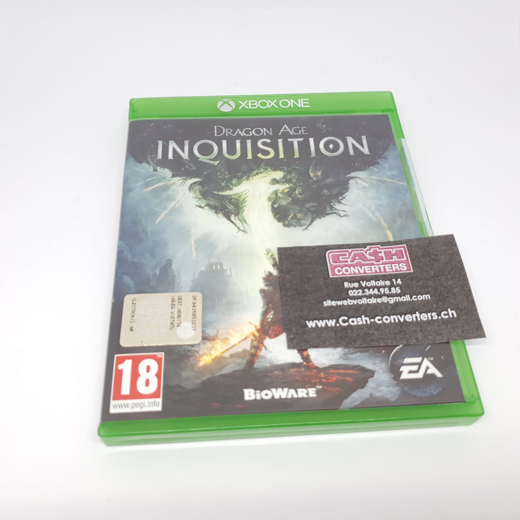 JEU XBOX ONE FRAGON AGE INQUISITION