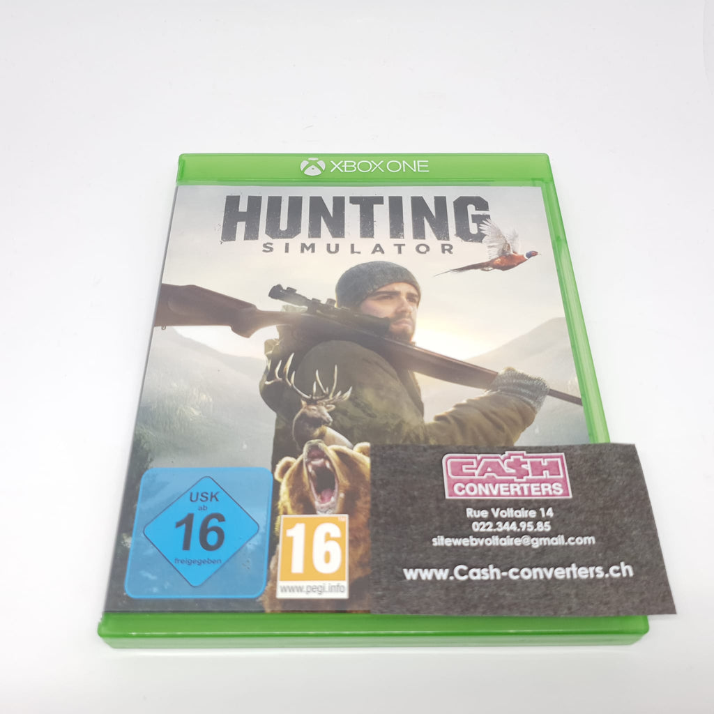 JEU XBOX ONE HUNTING SIMULATOR