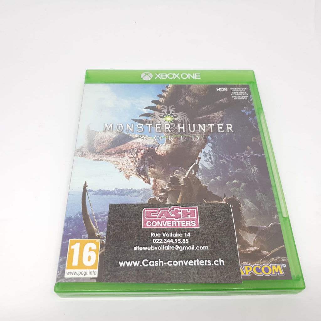 JEU XBOX ONE MONSTER HUNTER WORLD