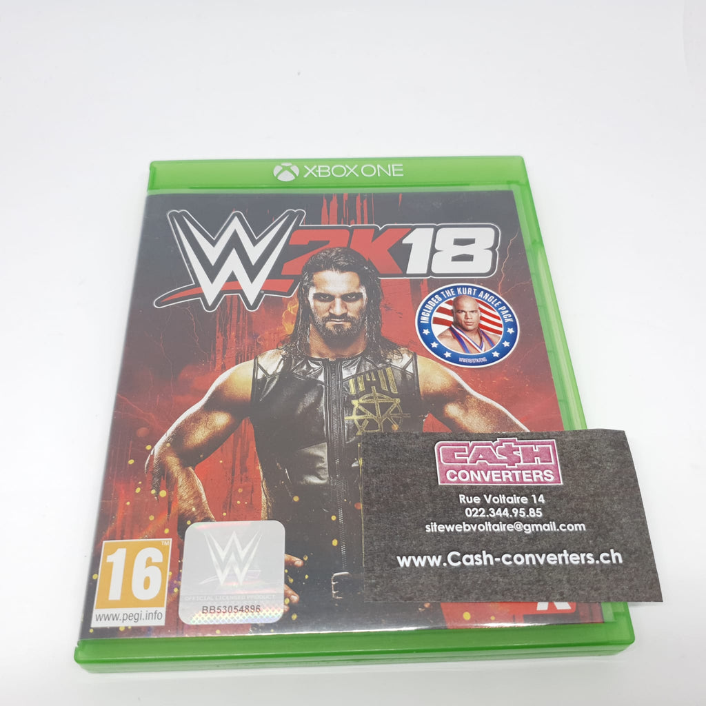 JEU XBOX ONE WWE 2K18