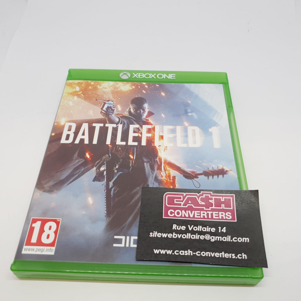 JEU XBOX ONE BATTLEFIELD 1