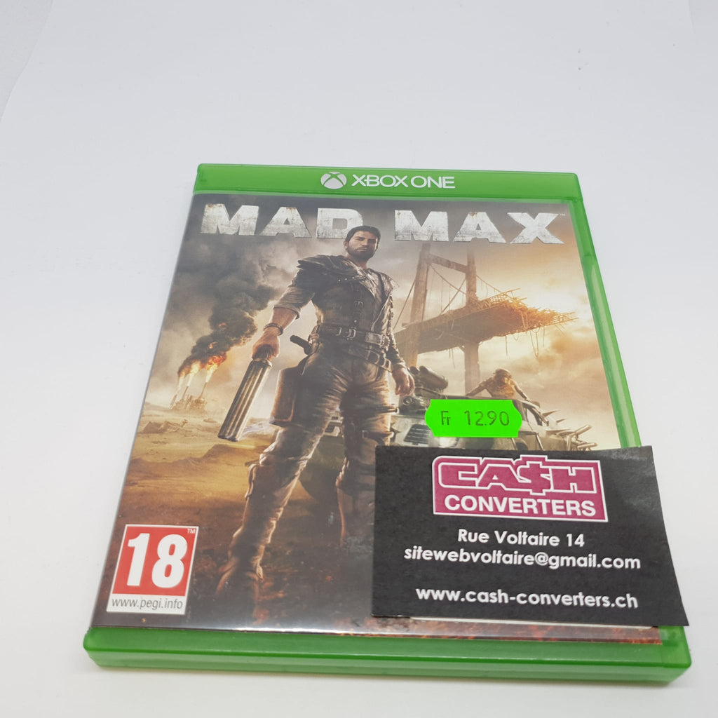 JEU XBOX ONE MAD MAX