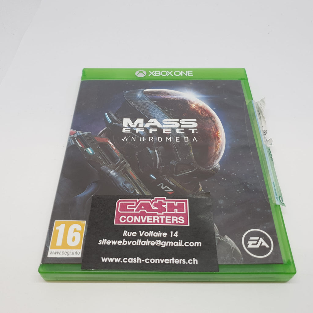 JEU XBOX ONE MASS EFFECT ANDROMEDA