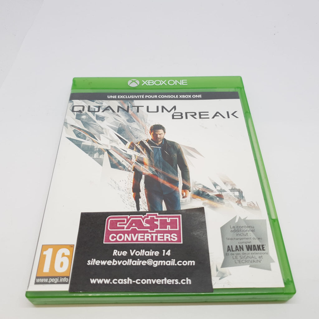 JEU XBOX ONE QUANTUM BREAK