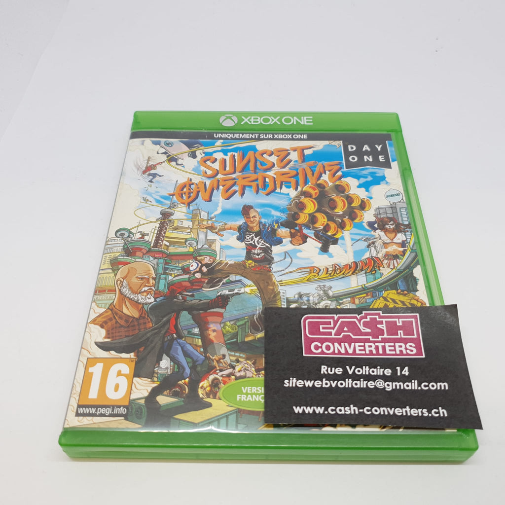 JEU XBOX ONE SUNSET OVERDRIVE