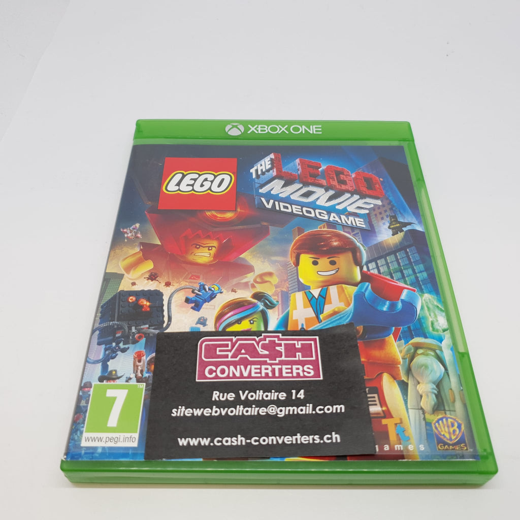JEU XBOX ONE THE LEGO MOVIE VIDEO GAME