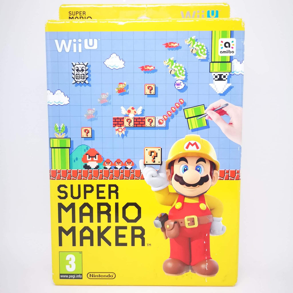 Jeu super Mario Maker Wii U