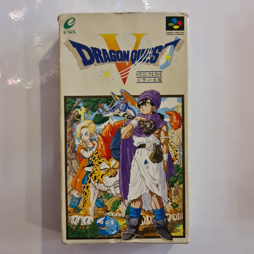 Jeu Super Famicom Dragon Quest V