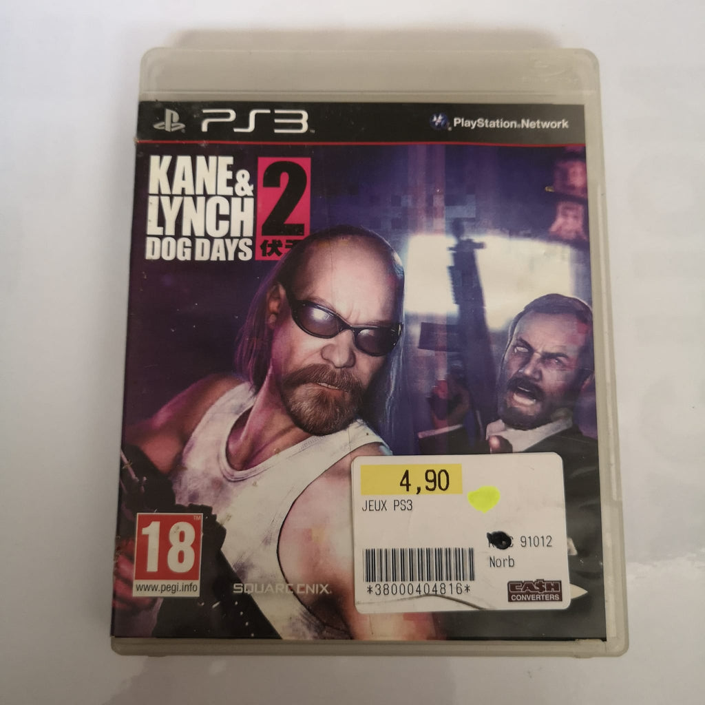 Jeu PS3 Kane & Lynch 2 Dog days