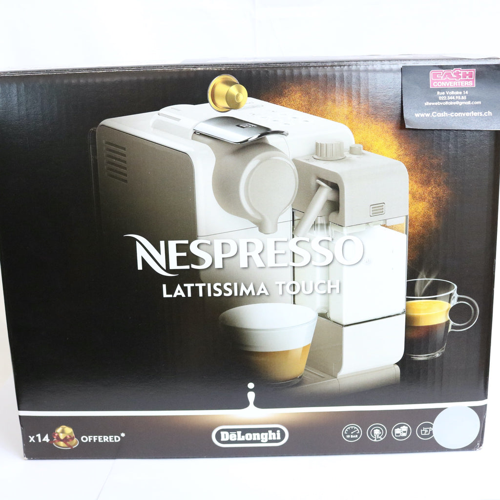 MACHINE A CAFE NESPRESSO LATTISSIMA TOUCH