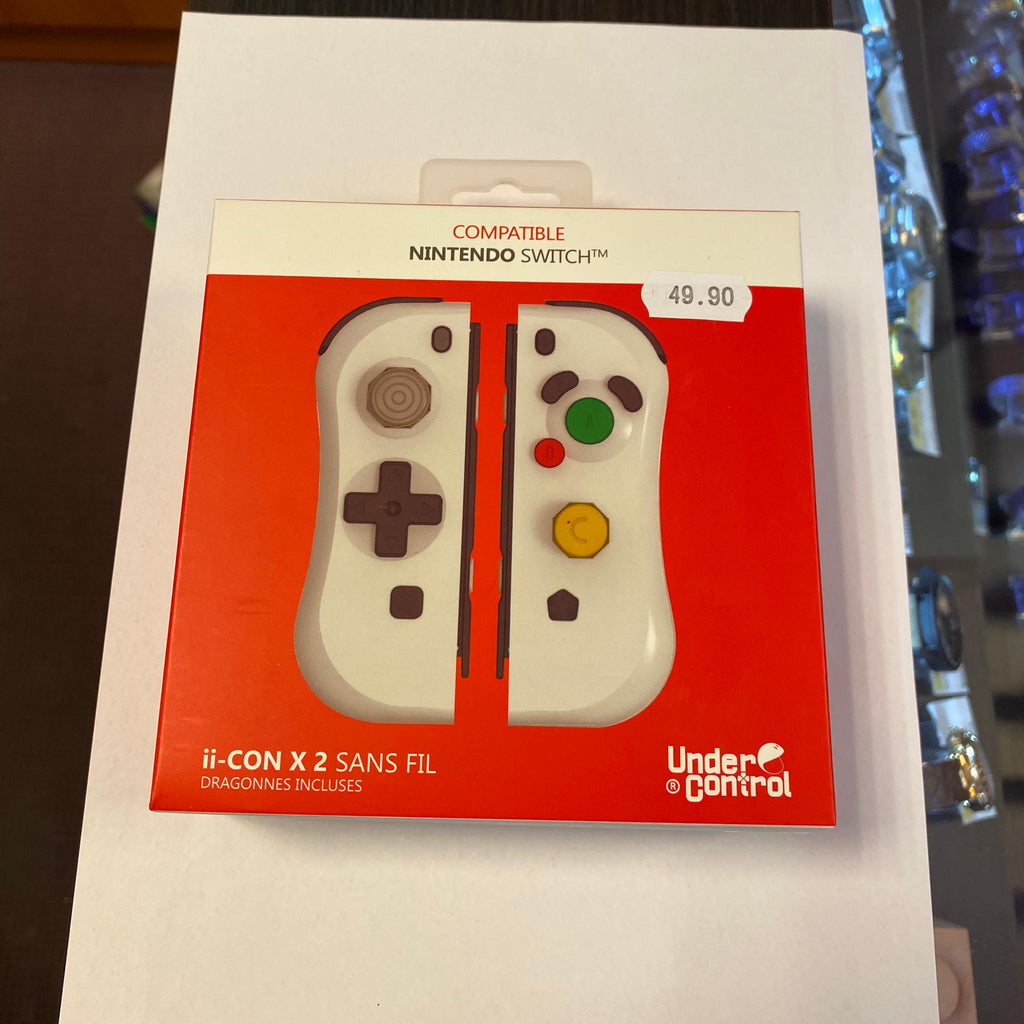 Compatible Nintendo switch sans fil Blanc