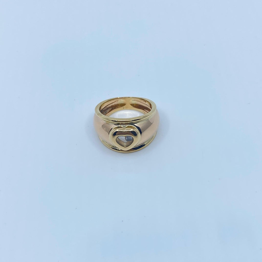 Bague Chopard or 18k 16.5gr T57