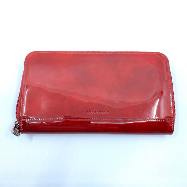 Portefeuille Longchamp rouge