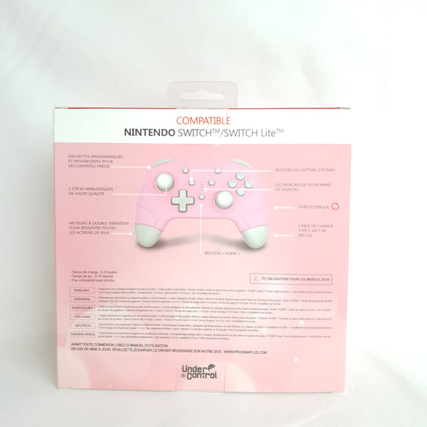 MANETTE BLUETOOTH POUR SWITCH PINK