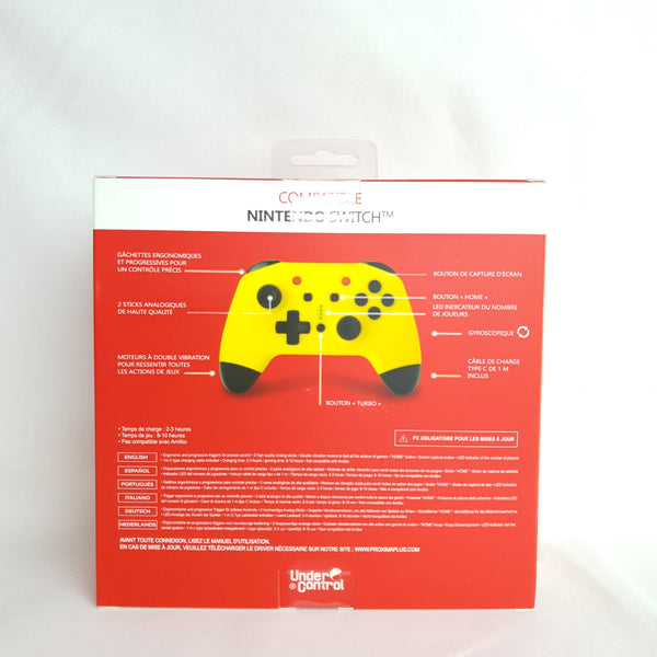 MANETTE BLUETOOTH POUR SWITCH PIKA
