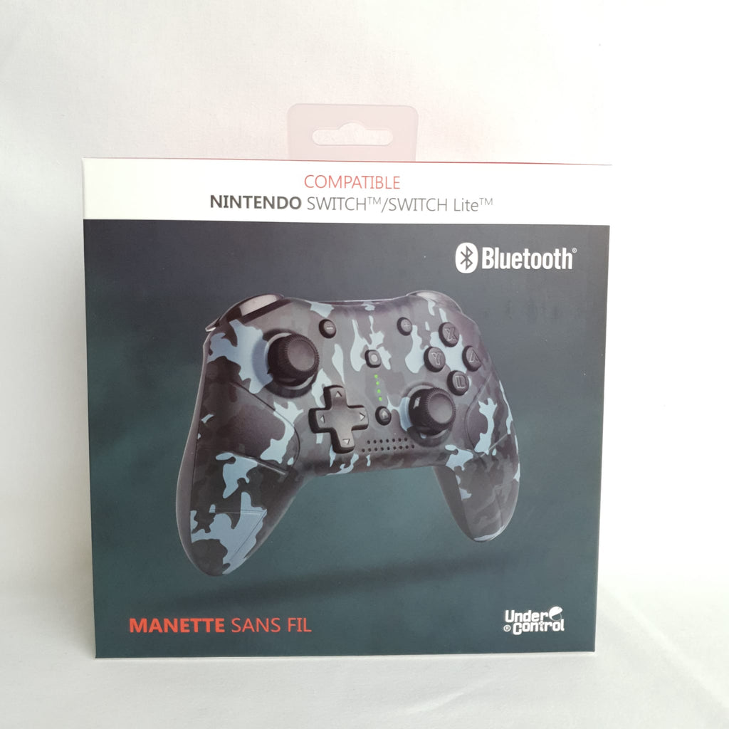 MANETTE BLUETOOTH POUR SWITCH CAMOUFLAGE