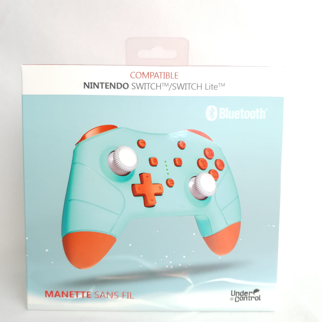 MANETTE BLUETOOTH POUR SWITCH BLUE CARAPACE