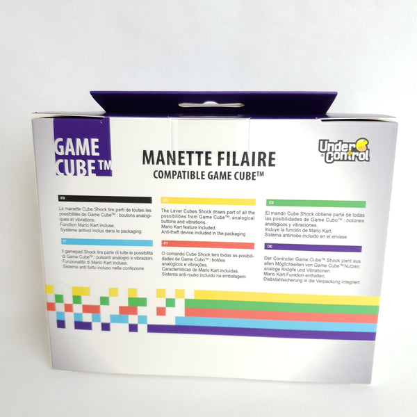 MANETTE FILAIRE POUR GAME CUBE BLANC