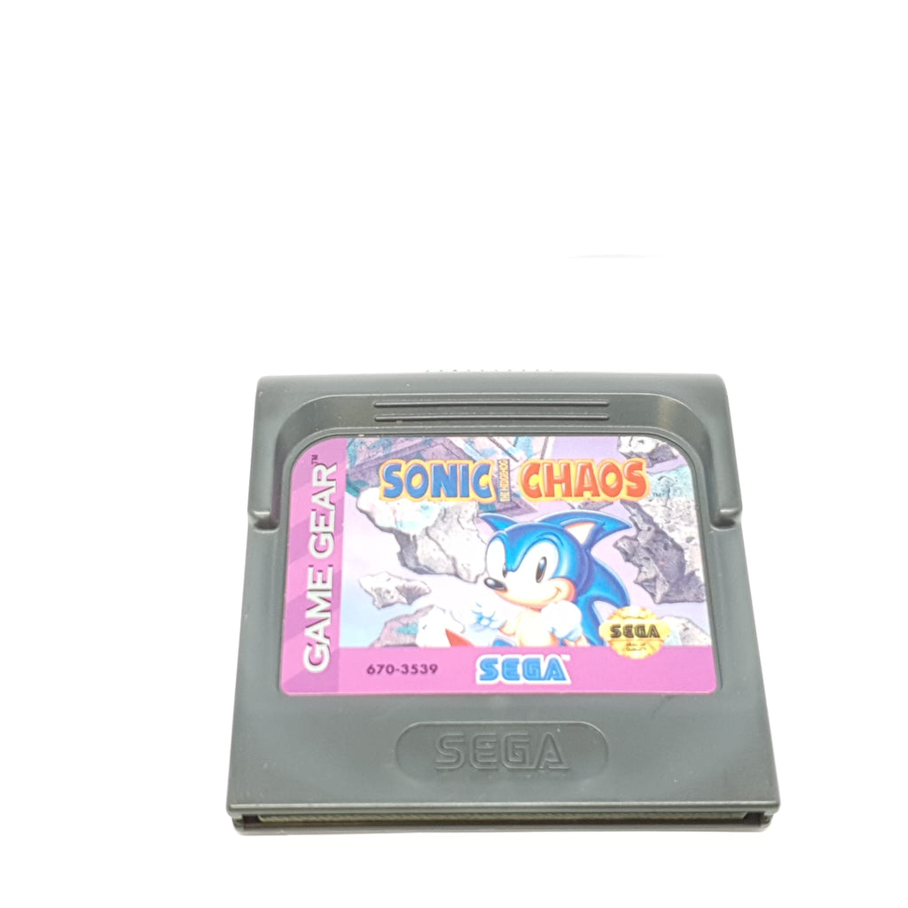 JEU GAME GEAR SONIC THE HEDGEHOG CHAOS