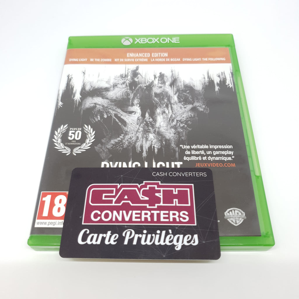JEU XBOX ONE DYING LIGHT THE FOLLOWING