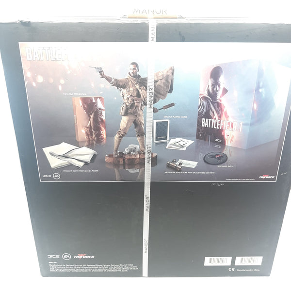 Battlefield 1 collector Statue Steelbook + patch