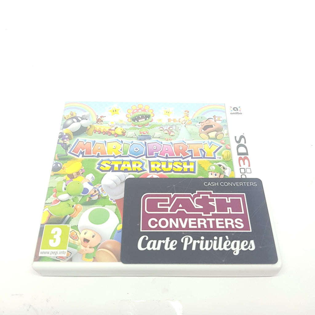 JEU 3DS MARIO PARTY STAR RUSH