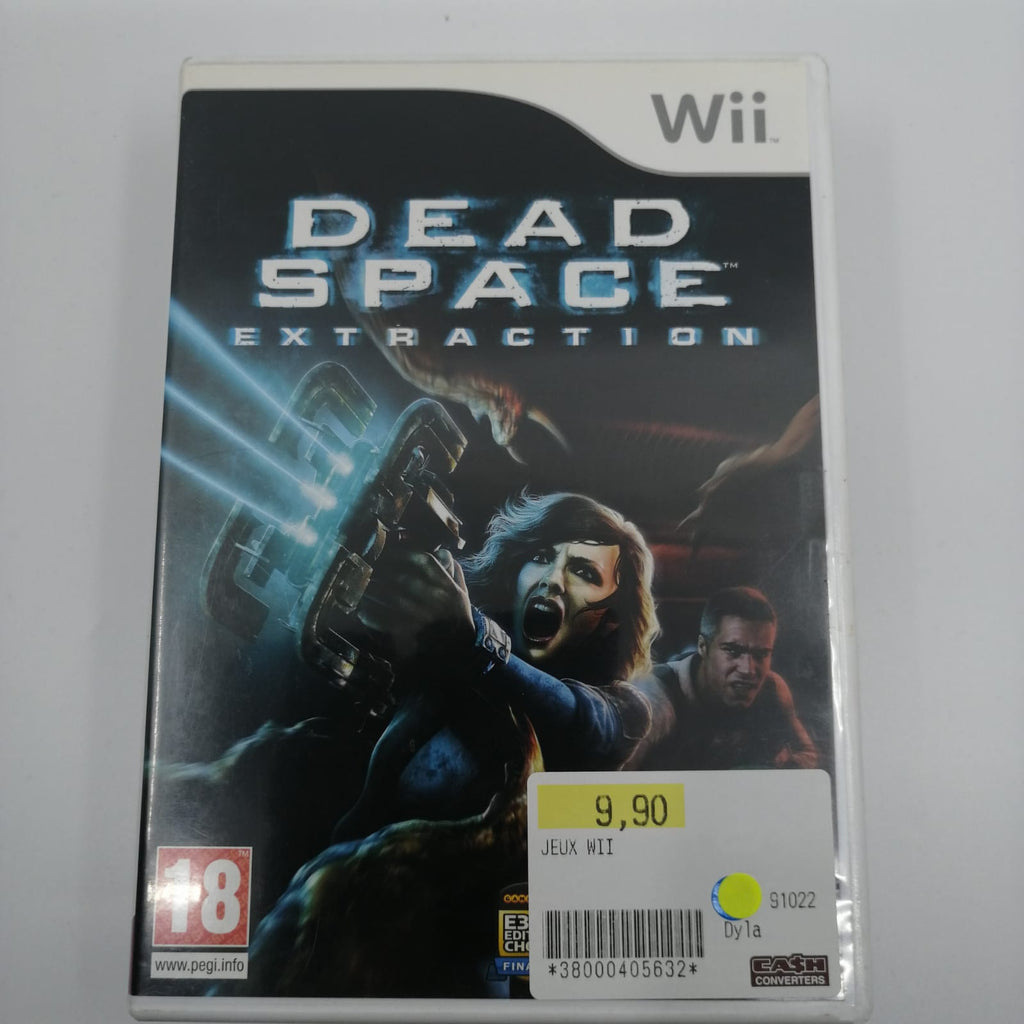 Jeu wii Dead space extraction