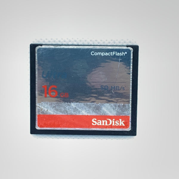 Carte mémoire Compact Flash Sandisk  16gb