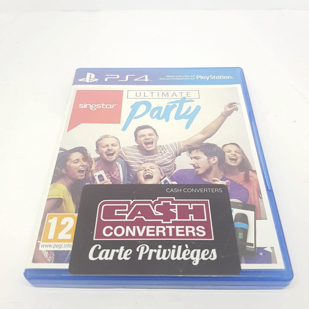 JEU PS4 SINGSTAR ULTIMATE PARTY