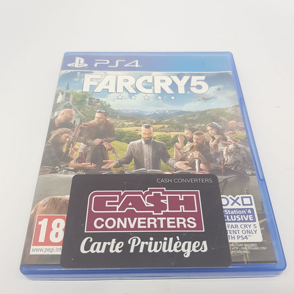 JEU PS4 FARCRY 5