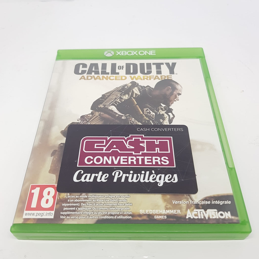 JEU XBOX ONE CALL OF DUTY ADVANCED WARFARE