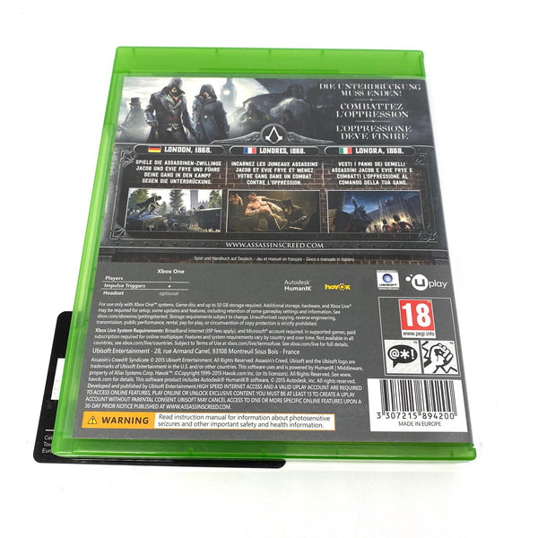 Jeu Xbox One Assassin's Creed Syndicate