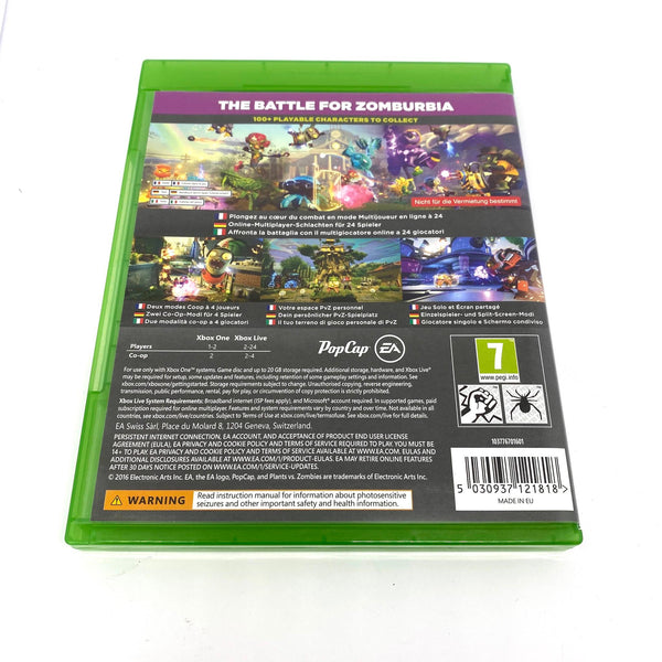 Jeu Xbox One Plant vs Zombies GW2