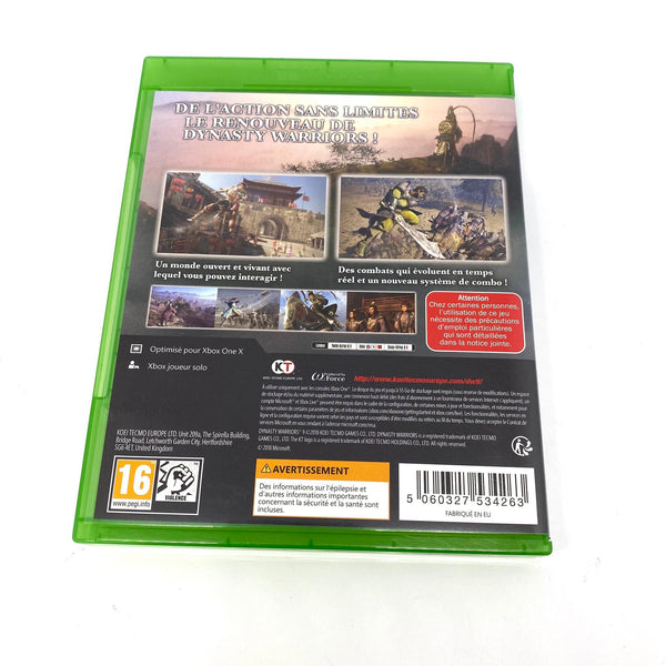 Jeu Xbox One Dynasty Warriors 9