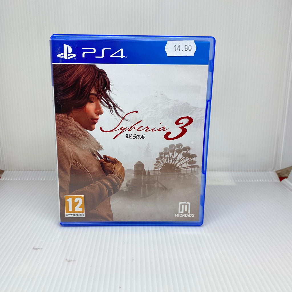 Jeux PS4 Syberia 3