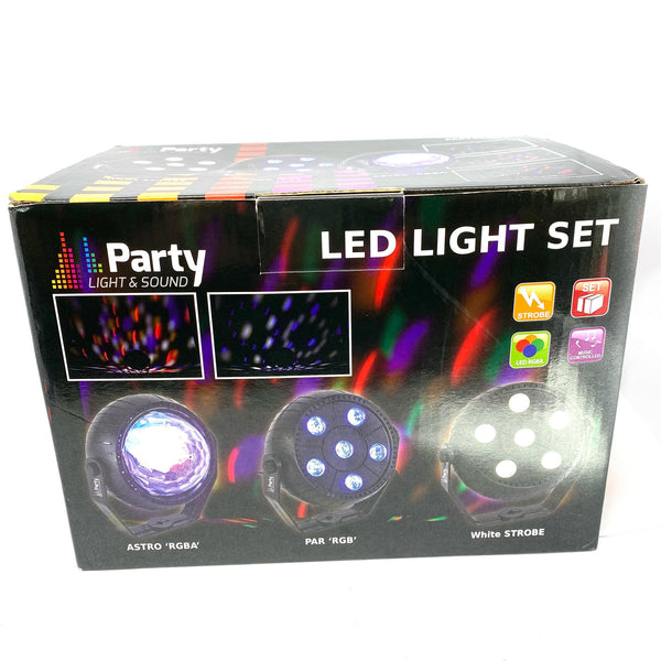 Pack d'effets a LED Party-Trifx
