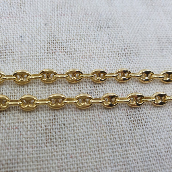 Chaine Or 18k 30,97gr, taille 54cm