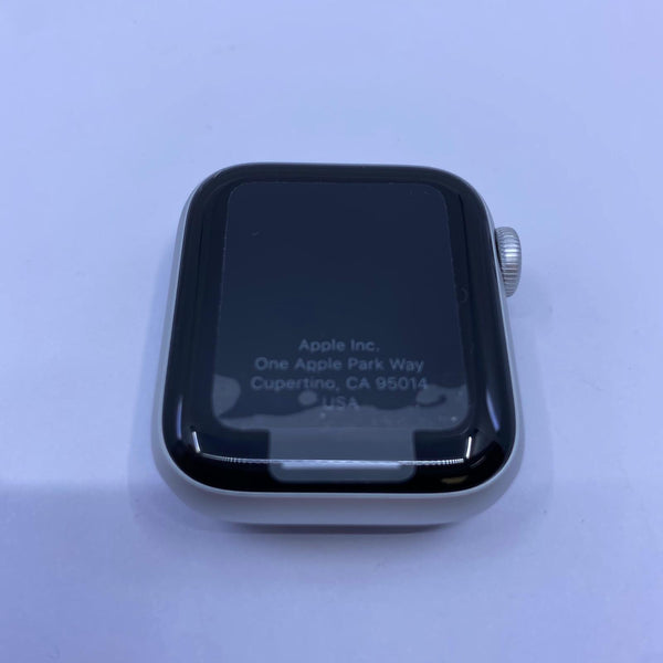 Apple Watch, Série 5 Argent Aluminium Sport Blanc