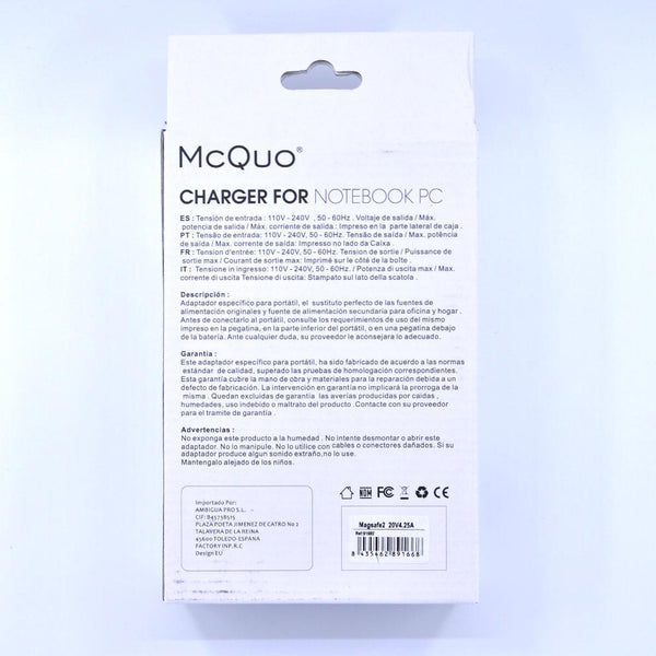 Chargeur MagSafe 2 85w Mac Book Pro