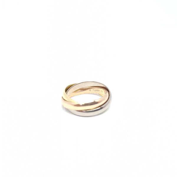 BAGUE CARTIER TRINITY  Or: 18k